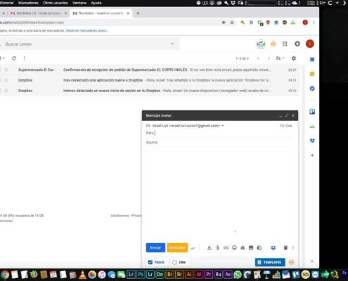 Correo Gmail: Instalación de extensiones 2 y ordenación de carpetas