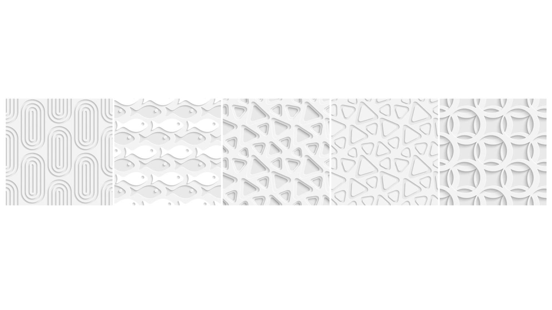 Trasera abstracta blanca