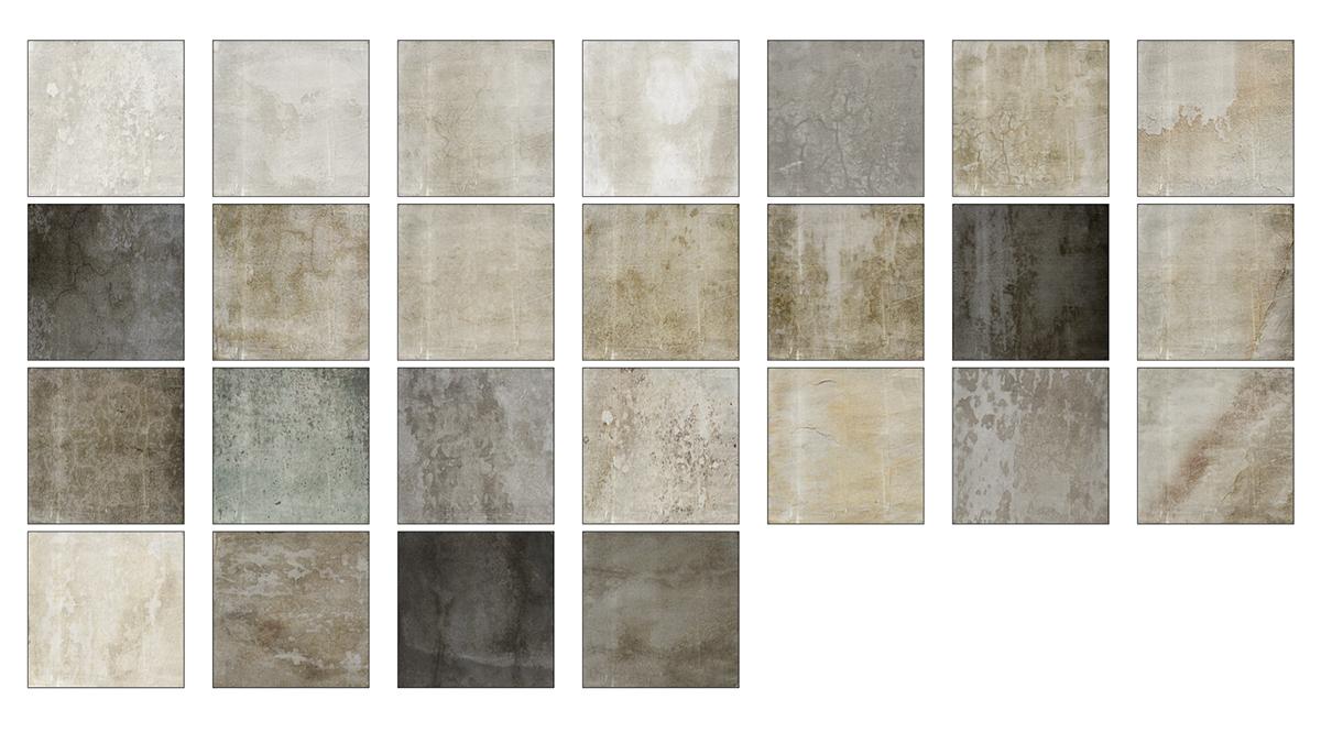 Texturas de Yeso Teñido