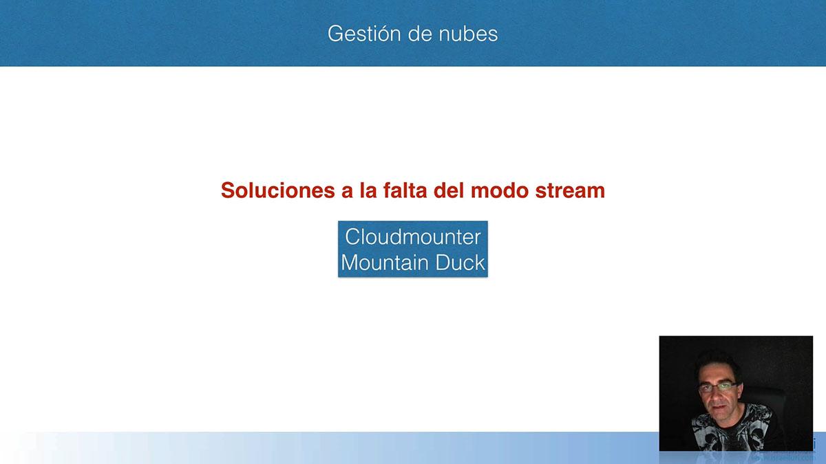 Nubes: CloudMounter y MountainDuck
