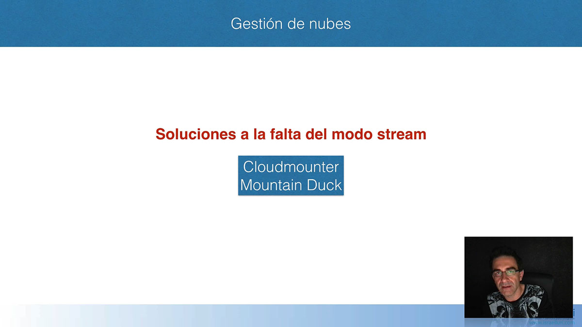 Nubes: CloudMounter y MountainDuck