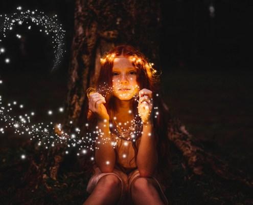Acción de polvo mágico para Photoshop