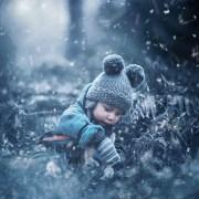Nieve en movimiento