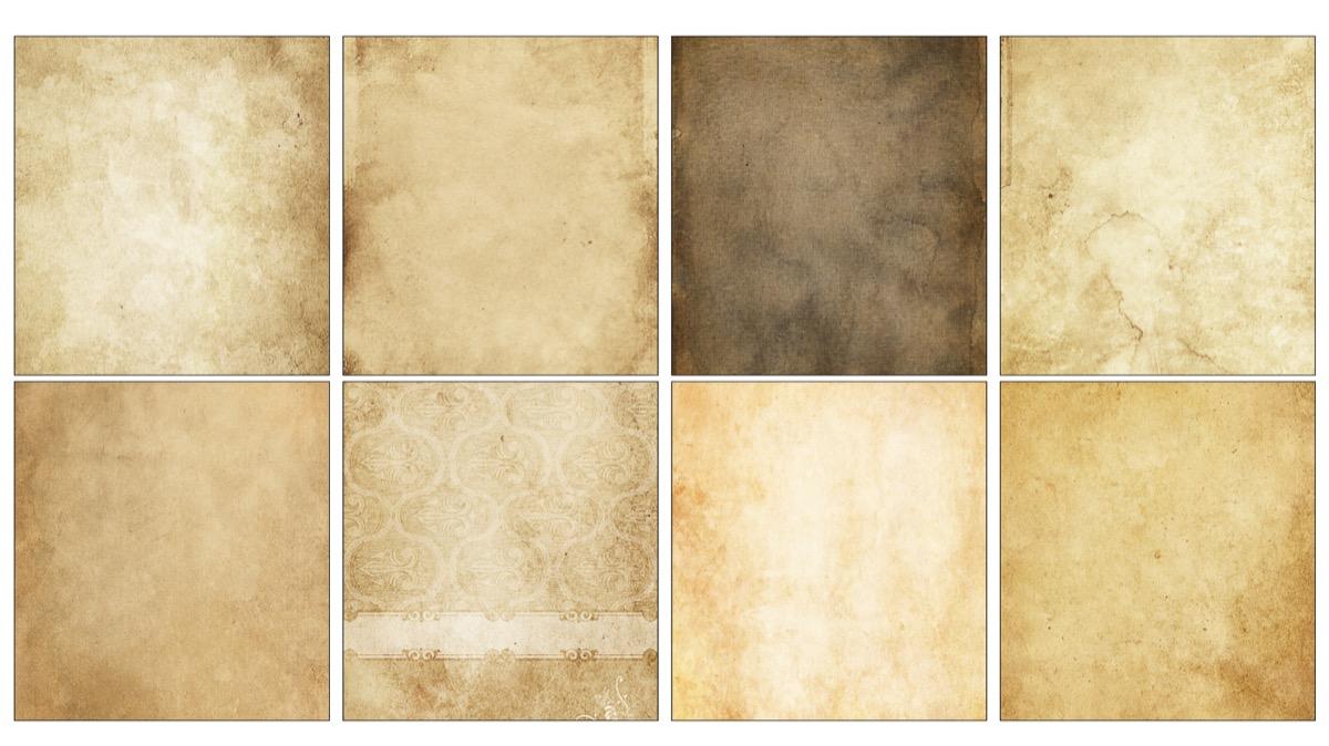 Texturas Papel Viejo