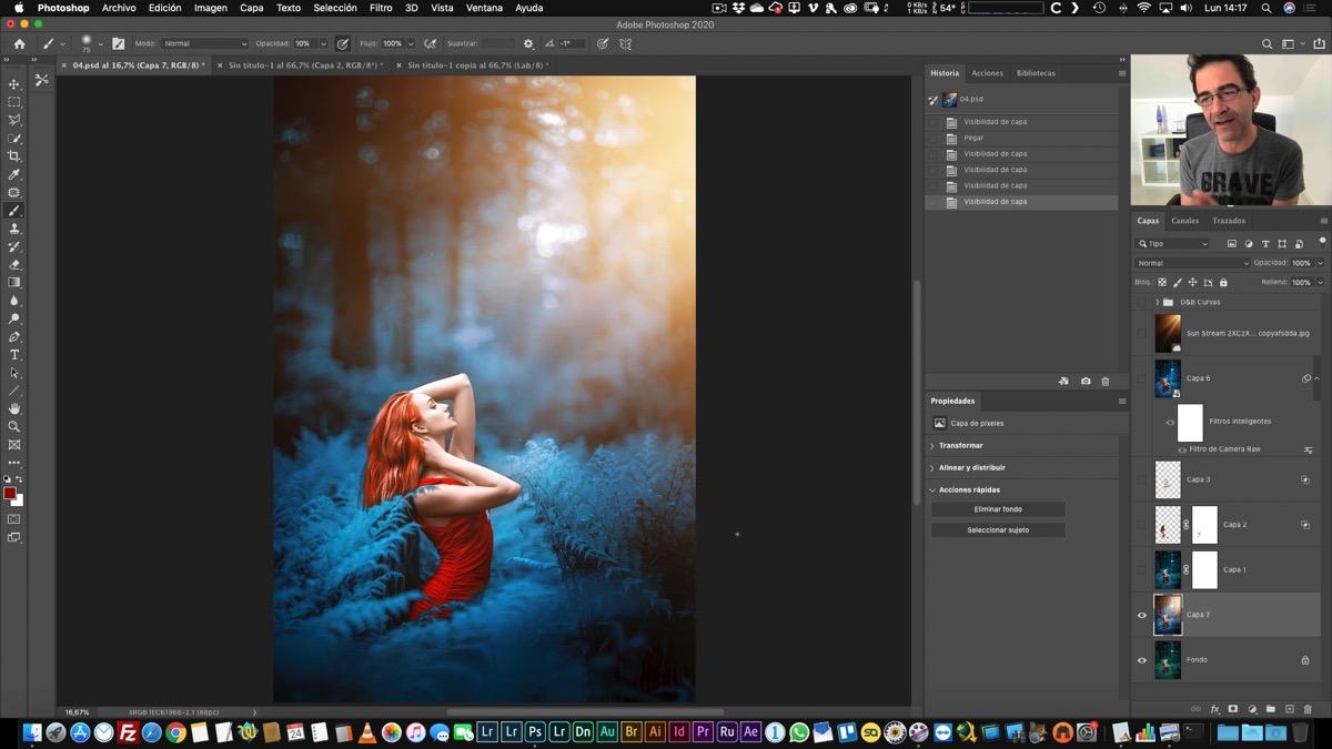Modificación del color: Coloreando una imagen