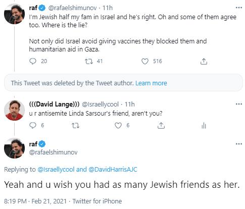 rafael shimunov tweet