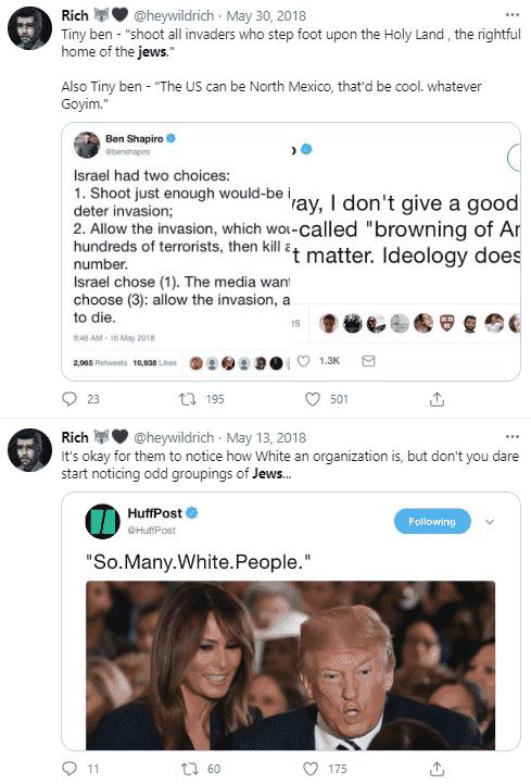 Richard Houck tweet