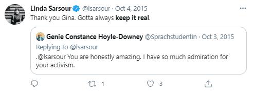 linda sarsour real tweet