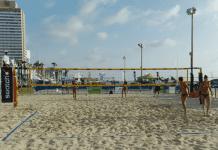 beach volleyball israel