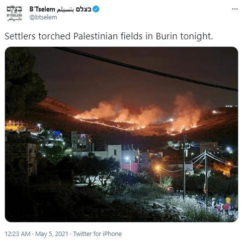 btselem tweet
