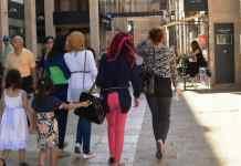 photo Arab girls, Jerusalem Mamilla Mall