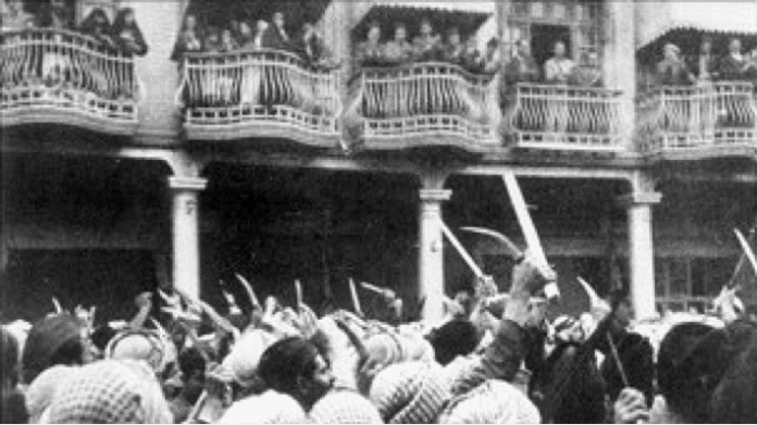 The Farhud Pogrom, Bagdhad, 1941.