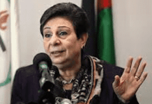 Hanan Ashrawi just flew in from the 70's and boy are her talking points tired