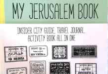 Cover photo from Barbara Shaw guide book for Jerusalem
