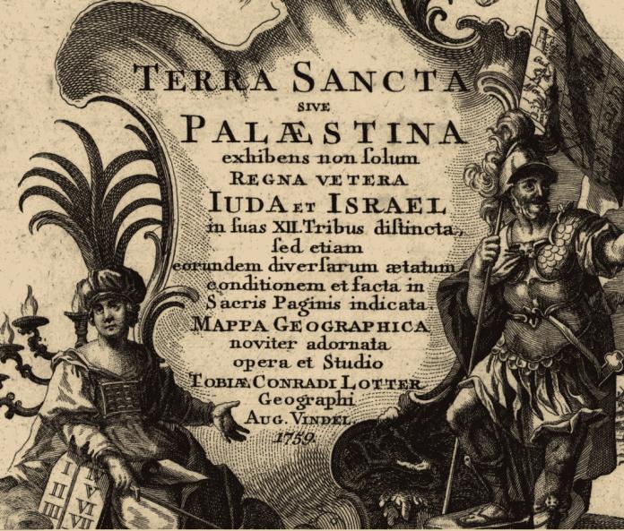 map of palestine 1