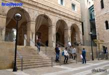 Jerusalem Mamilla Mall Old City Friday prayers