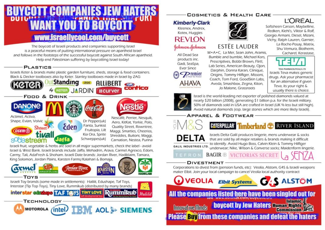Buycott Israel