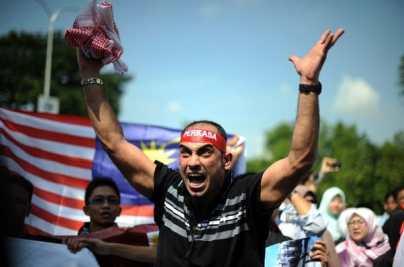 anti-Israel protester