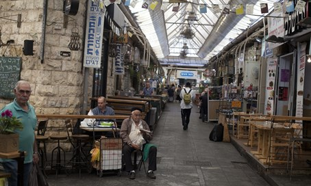 Mahane Yehuda Market empty in Jerusalem (illustration)