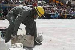 Earthquake preparedness drill