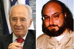 Shimon Peres and Jonathan Pollard