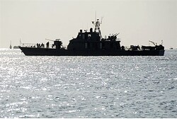 Iranian warship in Port Sudan