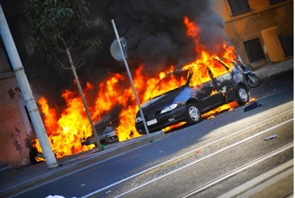 Car bomb (illustration)
