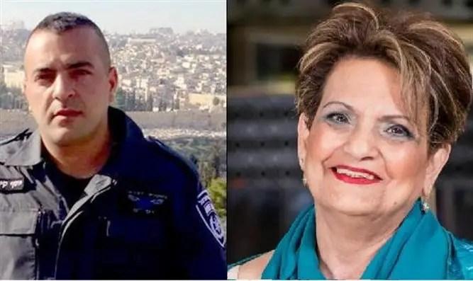 Levana Malichi (r) and Yosef Kirma (l) HY'D, murdered in Jerusalem by Palestinian terrorist