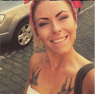 Так девушка выглядела до нападения в Вестербро (фото - Instagram Нанны Сковманд)