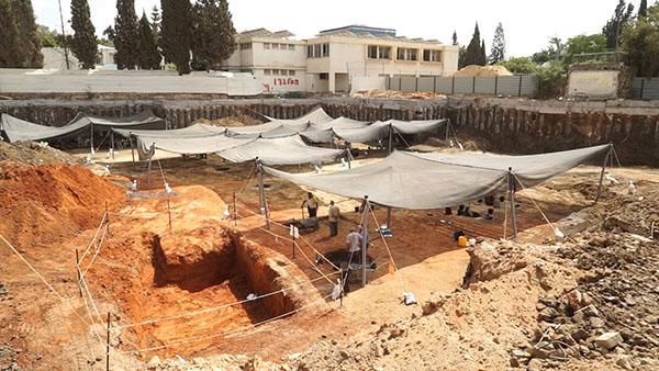 1.Место раскопок