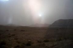 Пыльная буря в Негеве