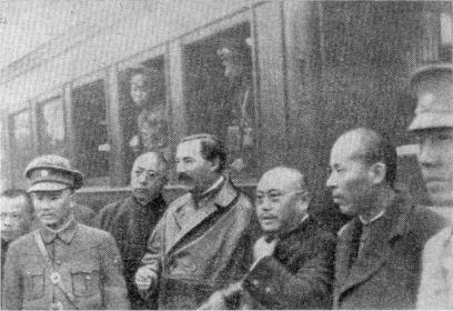 Бородин-Грузенберг в Наньчане. 1926 г.