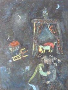 Марк Шагал, «Аллегорическая сцена»