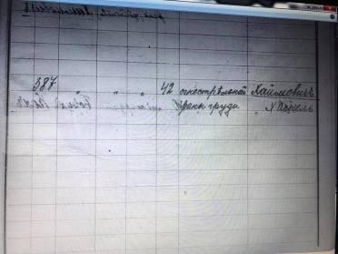 Жила себе в Одессе семья Хаймовичей. Хорошо жила и никому не мешала. И так было до 16 февраля 1919 года. А 16 февраля семья закончилась