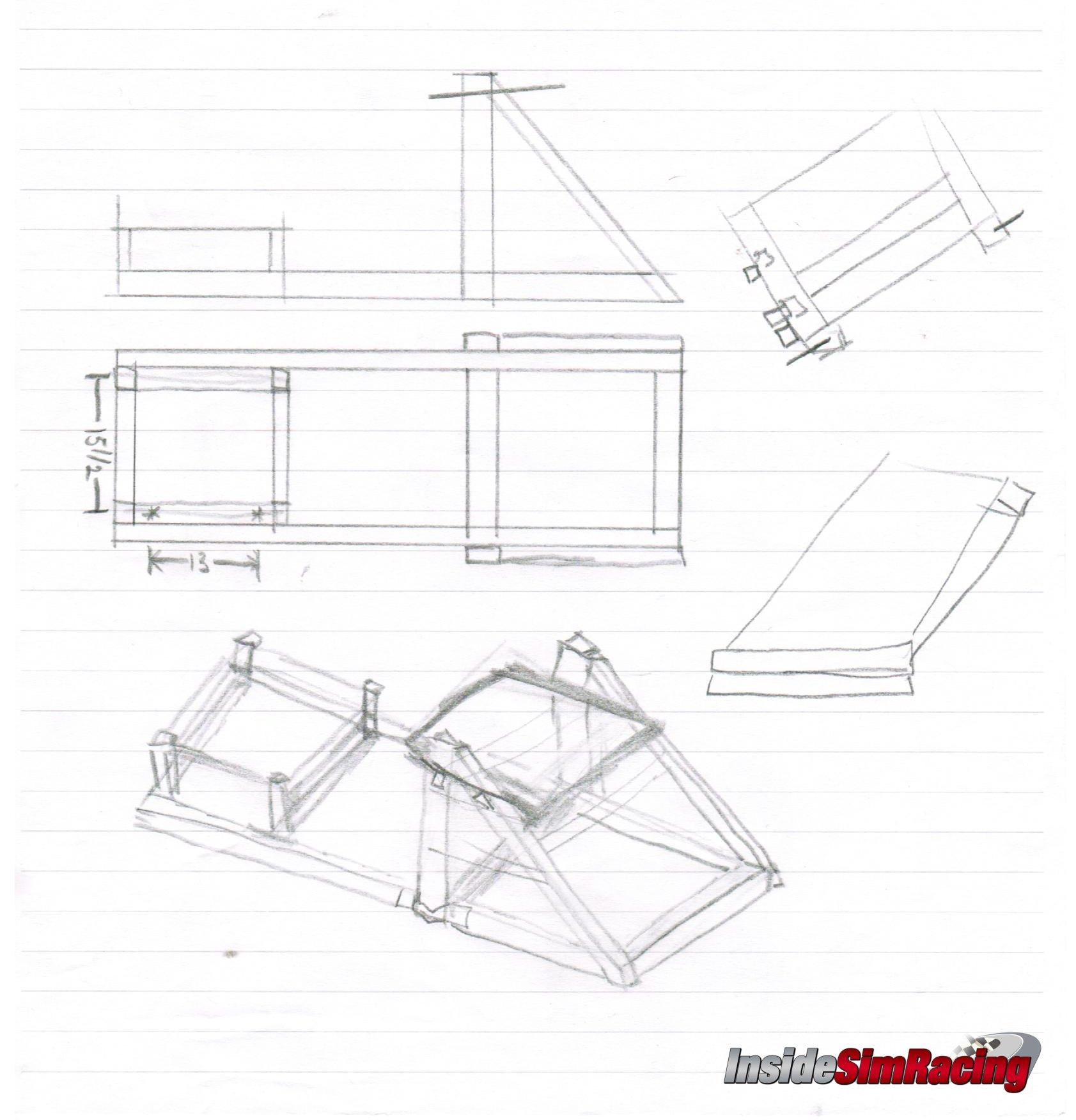 racing simulator chair plans desk and diy pvc sim rig do it your self