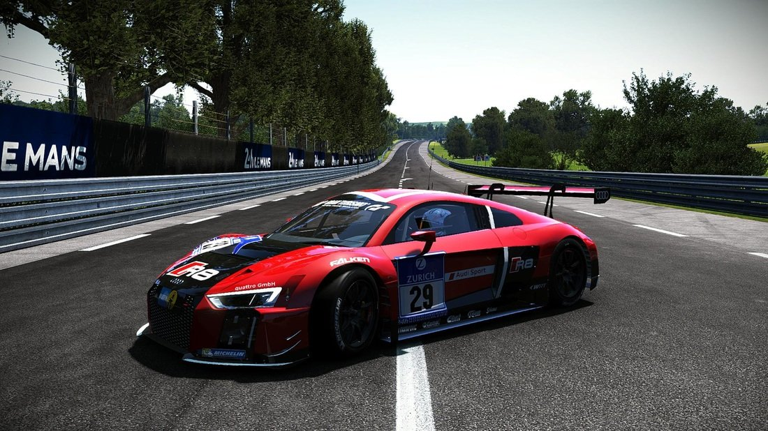 2015 Audi R8 LMS Mod Out On Project CARS Inside Sim Racing