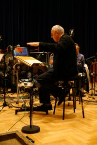 Mike Gibbs with NDR Bigband and Norma Winstone recording Here's a song for you FUZ005