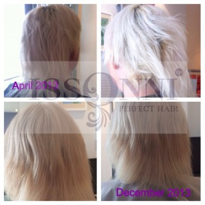is my hair too damaged for hair extensions issonni