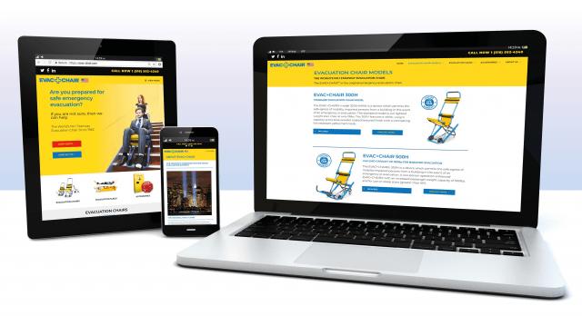 evac chair canada bertoia bird launches cutting edge responsive website isstories