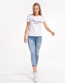 T-shirt paris - Λευκό