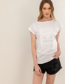 T-shirt you never know - Λευκό