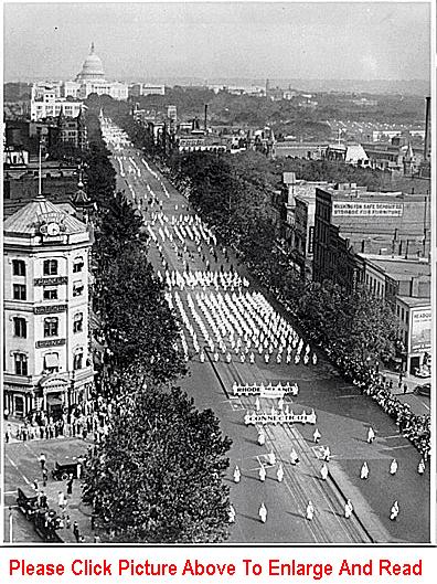 The 1926 KKK Parade