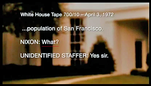 Republican President Richard Nixon White House Tapes - Part 6