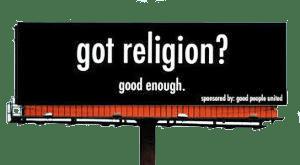 Got Religion!