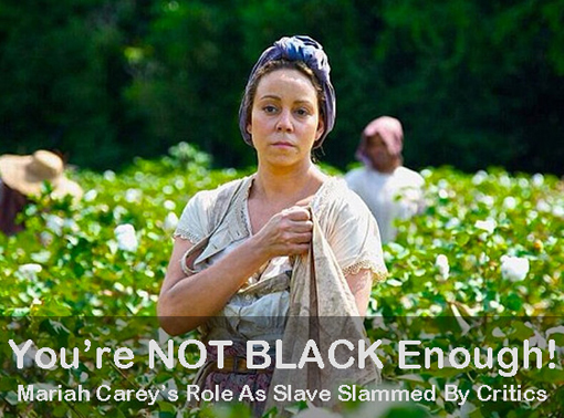 Mariah Carey As A Field Slave In The Butler Movie