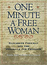 The Book Cover: One Minute A Free Woman