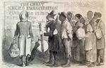 Cartoon of the Emancipation Proclamation