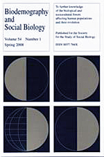 The Society for Biodemography and Social Biology