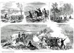 Centerfold: The Battle of Antietam, Fought September 17th, 1862 - Burnside Holding the Hill