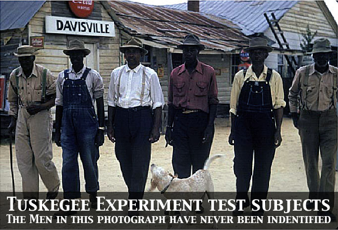 Tuskegee Experiment Test Subjects